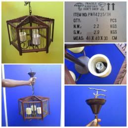 LUSTRE A 3 LAMPES DE LUXE...
