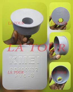 REDUCTEUR PVC 100/32 KMEI GRIS