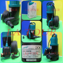 POMPE SUBMERSIBLE 1,3HP...