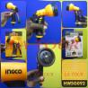 PISTOLET ARROSAGE PLASTIQUE A BEC REGLABLE (HWSG092) INGCO JAUNE/NOIR