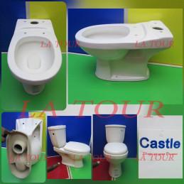 CUVETTE WC CASTLE BLANC