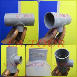 TE REDUCTEUR PVC 50/32