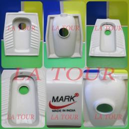 WC TURC (52x43CM) MARK BLANC