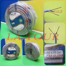 CABLE VGV RIGIDE 3x02,50MM²...