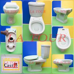 CUVETTE WC CASTLE VERT