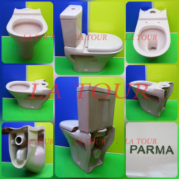 CUVETTE WC  PARMA JUMBO ROSE