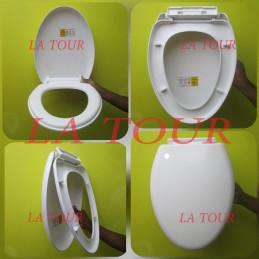 ABATTANT WC PLASTIQUE...