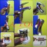MITIGEUR LAVABO (FLEXIBLE+BONDE) REF.(N10) CHOICE CHROME