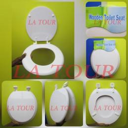 ABATTANT WC EN BOIS DUR...