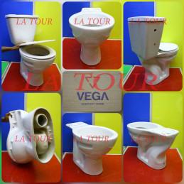 CUVETTE WC VEGA BLANC