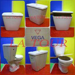 RESERVOIR WC VEGA BLANC