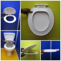 ABATTANT WC PLASTIQUE GOLF...