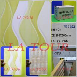FAIENCE CHINOIS (20x30)CM...