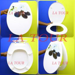 ABATTANT WC PLASTIQUE DECOR...