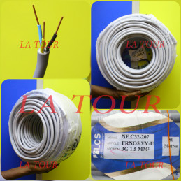 CABLE VGV RIGIDE 3x01,50MM²...