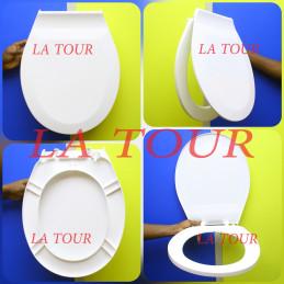 ABATTANT WC PLASTIQUE EPAIS...