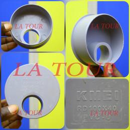REDUCTEUR PVC 100/40 KMEI GRIS