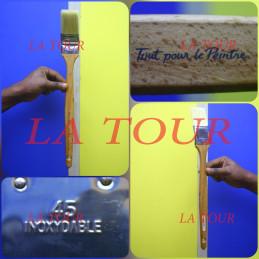 BROSSE COUDEE 45  BOIS/INOX